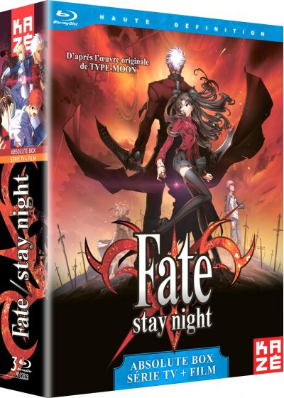 Fate Stay Night : La Série + Le Film Unlimited Blade Works (Absolute Box) - Blu-ray