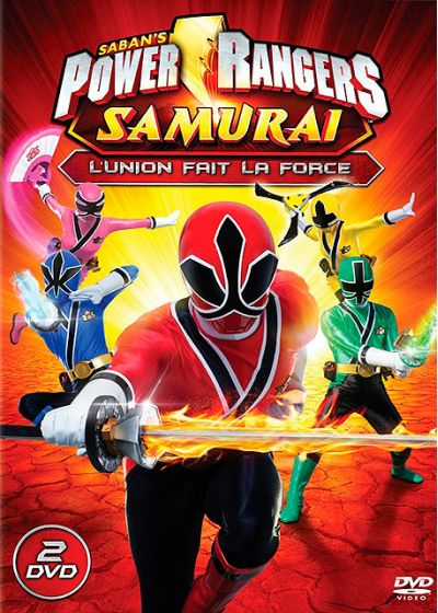 Power Rangers Samouraï - Vol. 1 : L'union fait la force - DVD