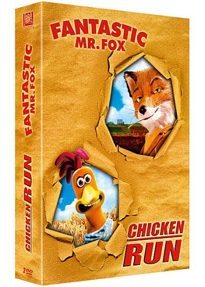 Fantastic Mr. Fox + Chicken Run (Pack) - DVD