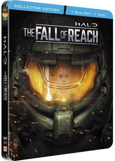 Halo : The Fall of Reach (Combo Blu-ray + DVD - Édition boîtier SteelBook) - Blu-ray