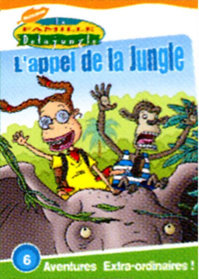 La Famille Delajungle - L'appel de la jungle - DVD