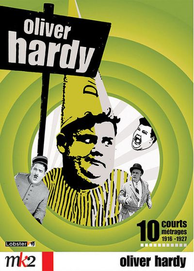 Oliver Hardy - 10 courts métrages - 1916-1927 - DVD