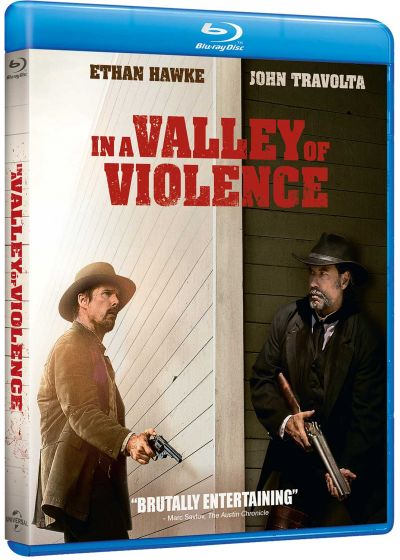 In a Valley of Violence - Blu-ray