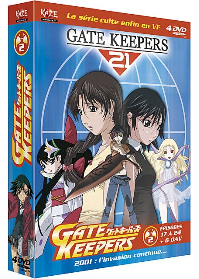 Gate Keepers - L'intégrale - Box 2/2 (Édition Collector) - DVD