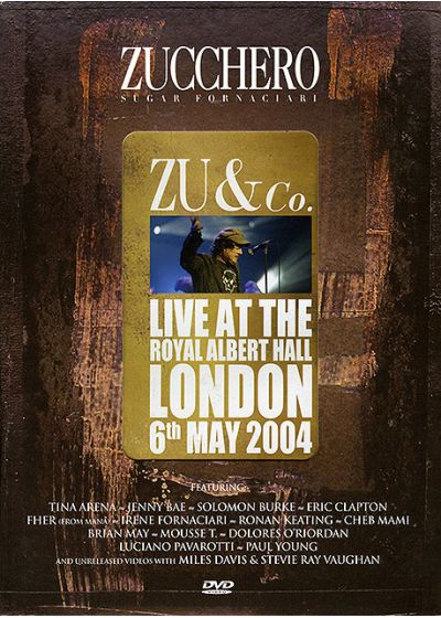 Zucchero - Zu & Co. - Live at the Royal Albert Hall - DVD