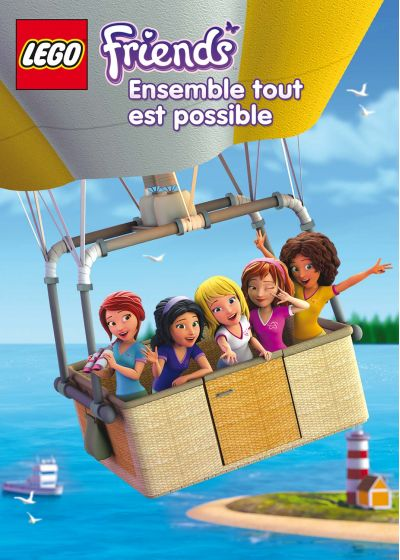LEGO Friends - Saison 2 Partie 1 - Ensemble tout est possible - DVD