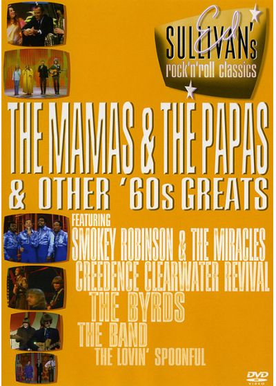 Ed Sullivan's Rock'n'Roll Classics - The Mamas & The Papas & Other '60s Greats - DVD