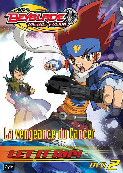 Beyblade Metal Fusion - Vol. 2 : La vengeance du Cancer - DVD