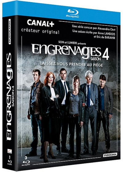 Engrenages - Saison 4 - Blu-ray