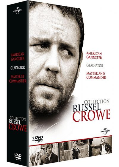 Collection Russell Crowe - DVD