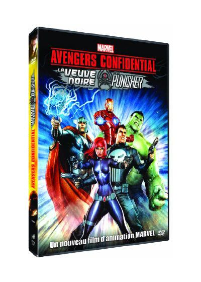 Avengers Confidential : La Veuve Noire et Le Punisher (DVD + Copie digitale) - DVD