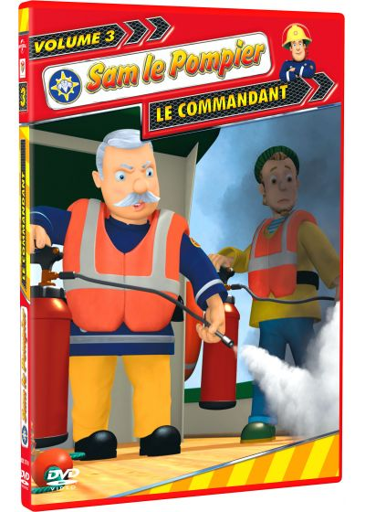Sam le Pompier - Volume 3 : le commandant - DVD