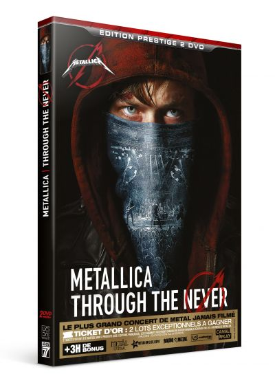 Metallica : Through the Never (Édition Prestige) - DVD