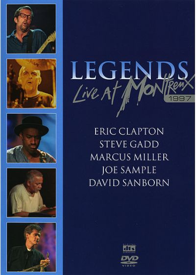 Legends - Live At Montreux - 1997 - DVD