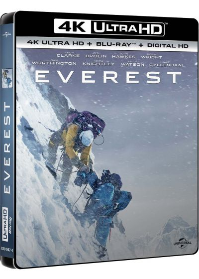 Everest (4K Ultra HD + Blu-ray + Copie Digitale UltraViolet) - Blu-ray 4K