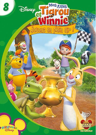 Mes amis Tigrou et Winnie - Vol. 8 : Jouons en plein air ! (DVD + Puzzle) - DVD
