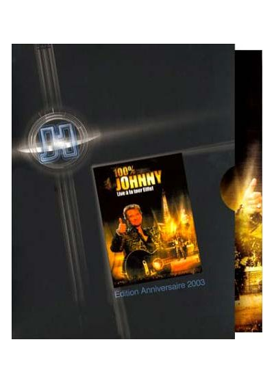 Johnny Hallyday - 100% Johnny, Live à la tour Eiffel (Édition Anniversaire 2003) - DVD