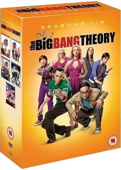 The Big Bang Theory - Saisons 1 à 5 - DVD