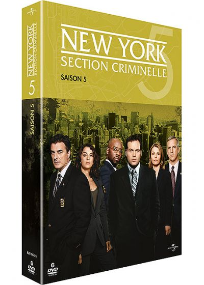 New York, section criminelle - Saison 5 - DVD