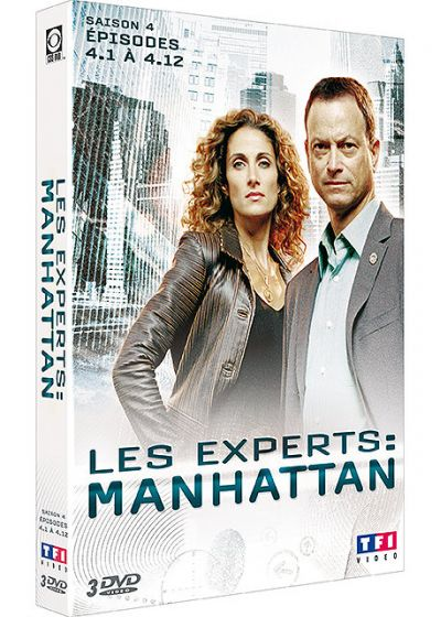 Les Experts : Manhattan - Saison 4 Vol. 1 - DVD