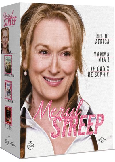 Meryl Streep - Out of Africa + Mamma Mia! + Le choix de Sophie (Pack) - DVD