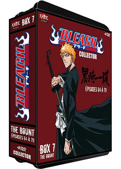 Bleach - Saison 2 : Box 7 : The Bount, Part 1 (Édition Collector) - DVD