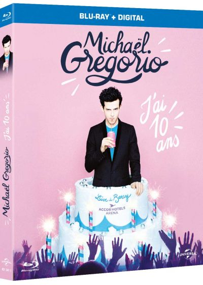 Michaël Gregorio - J'ai dix ans (Blu-ray + Copie digitale) - Blu-ray