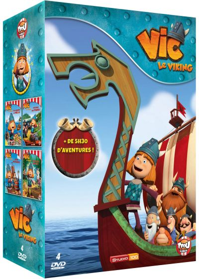 Vic le Viking - Vol. 1 à 4 - DVD