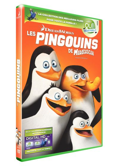 Les Pingouins de Madagascar (DVD + Digital HD) - DVD
