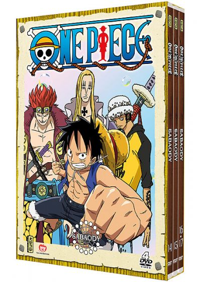 One Piece - Sabaody - Coffret 1 - DVD
