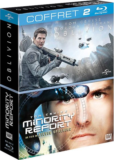 Oblivion + Minority Report (Pack) - Blu-ray