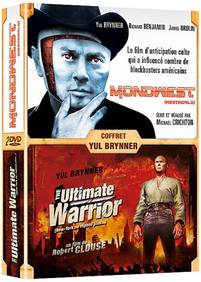 Yul Brynner : Mondwest (Westworld) + The Ultimate Warrior (New York ne répond plus...) (Pack) - DVD