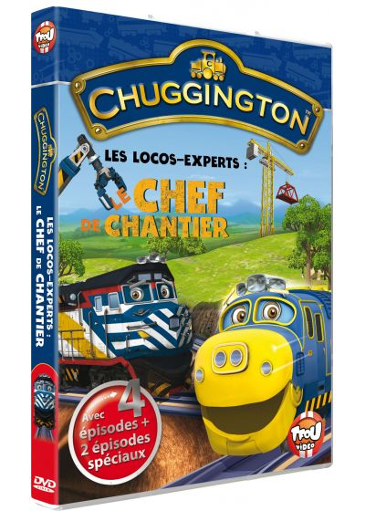 Chuggington - Le chef de chantier - DVD