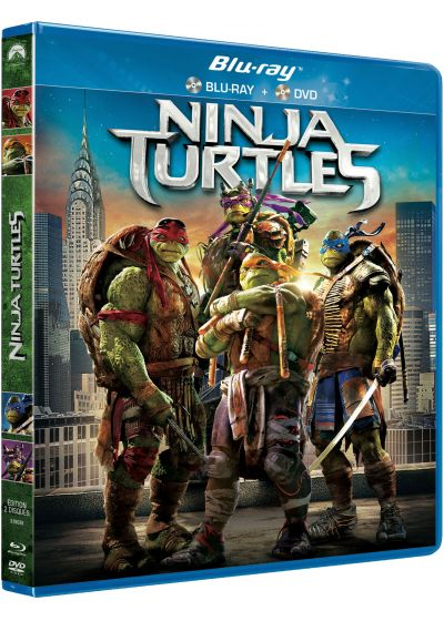 Ninja Turtles (Combo Blu-ray + DVD) - Blu-ray