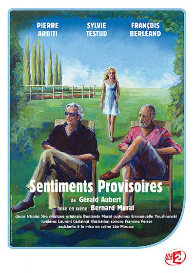 Sentiments provisoires - DVD