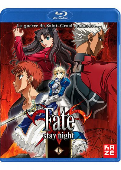 Fate Stay Night - Partie 1/2 - Blu-ray