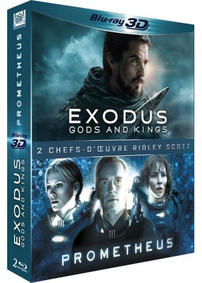 Exodus : Gods and Kings + Prometheus (Combo Blu-ray 3D + Blu-ray 2D) - Blu-ray 3D