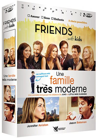Friends with Kids + Une famille très moderne (Pack) - DVD