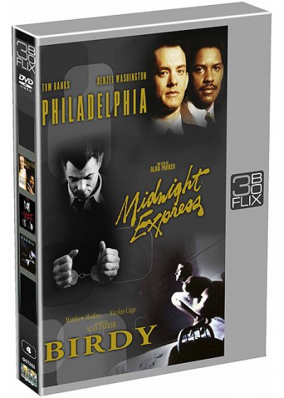 Flix Box - 4 - Philadelphia + Birdy + Midnight Express - DVD