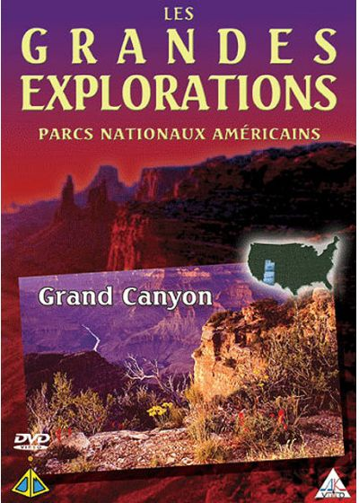 Les Grandes explorations - Parcs nationaux américains - Grand Canyon - DVD