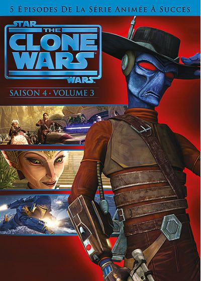 Star Wars - The Clone Wars - Saison 4 - Volume 3 - DVD