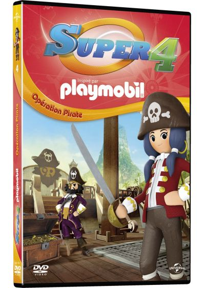 Super 4 (inspiré par Playmobil) - 4 - Opération Pirate - DVD