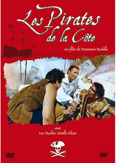 Les Pirates de la côte - DVD