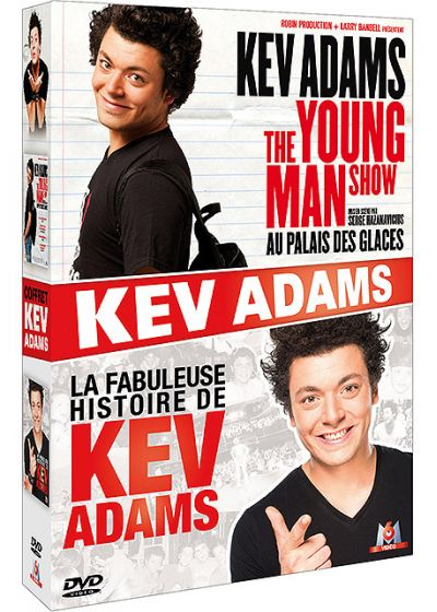 Kev Adams - The Young Man Show au Palais des Glaces + La fabuleuse histoire de Kev Adams (Pack) - DVD