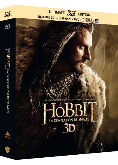 Le Hobbit : La désolation de Smaug (Édition Ultimate - Blu-ray 3D + Blu-ray + DVD + copie digitale) - Blu-ray