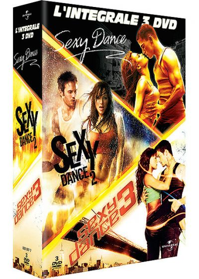 Sexy Dance + Sexy Dance 2 + Sexy Dance 3, the battle - DVD