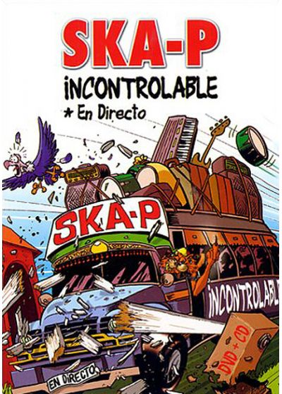 Ska-P - Incontrolable - DVD