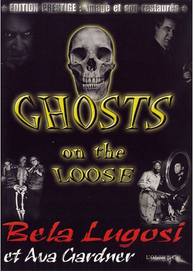 Ghosts on the Loose - DVD