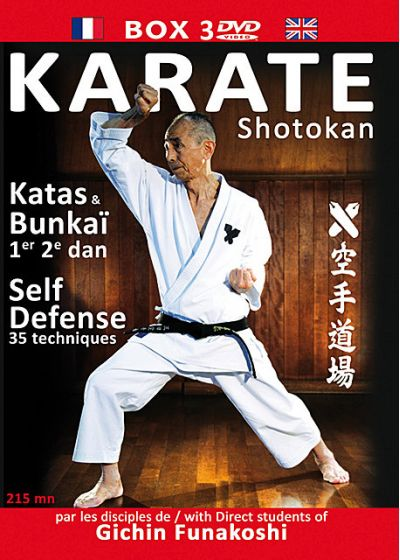 Karate Shokotan : Katas - Bunkai - Self Defense - DVD