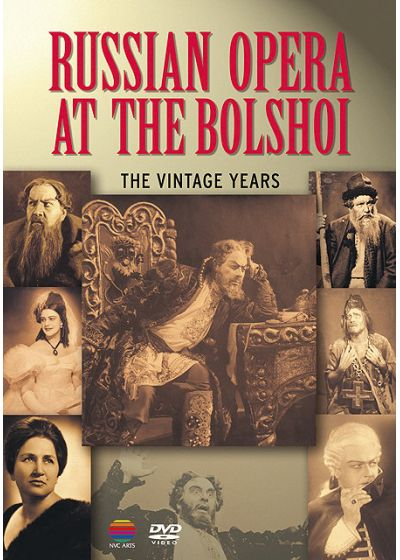 Russian Opera At The Bolshoi: The Vintage Years - DVD